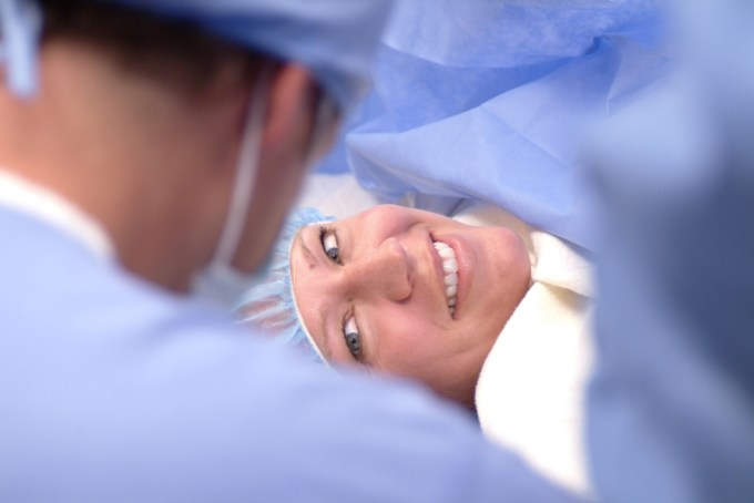 Kalispell OB/GYN Woman in surgery