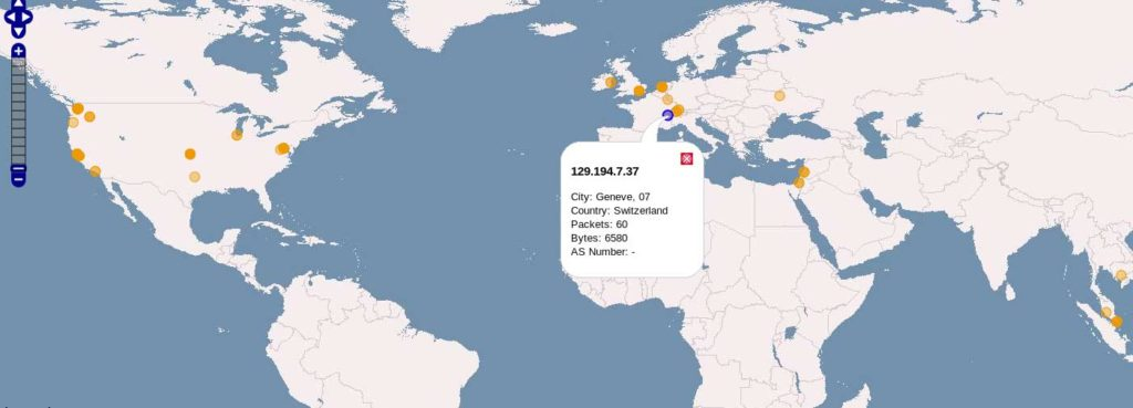WireShark Map