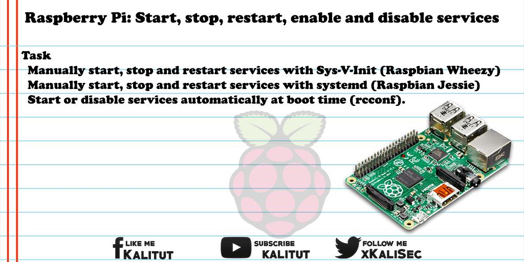 raspberry pi disable service