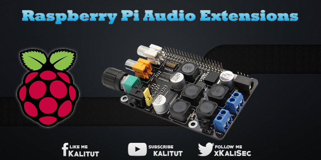 Raspberry Pi Audio card