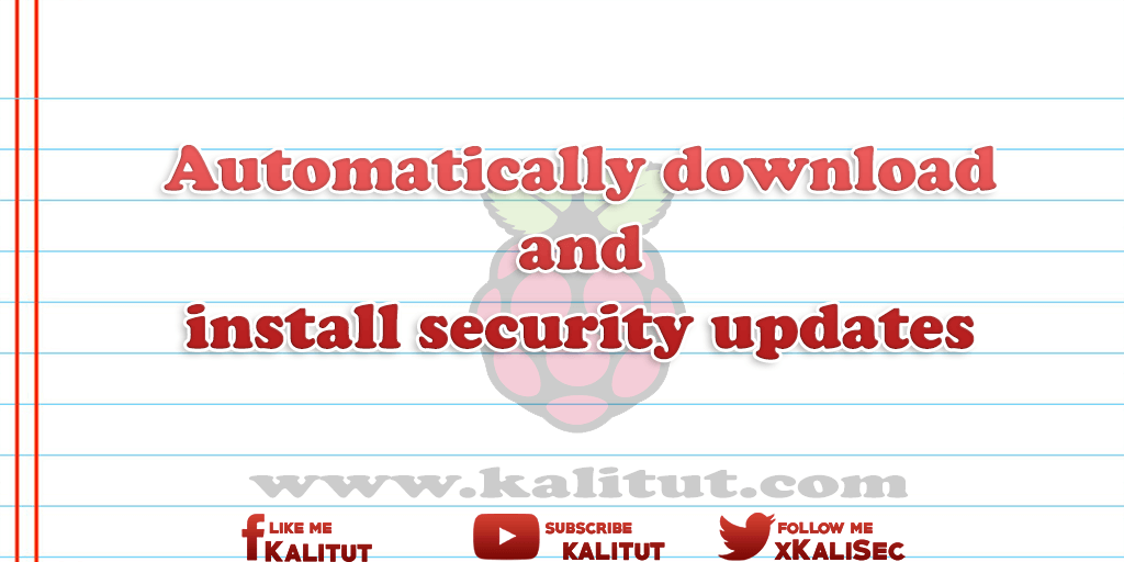 Automatically download and install Raspberry Pi security updates