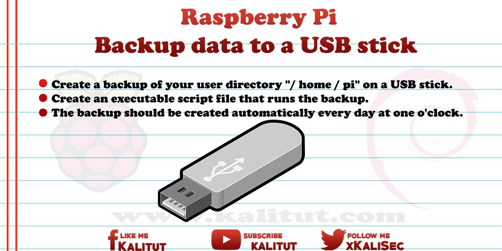 backup raspberry pi sd card to usb drive