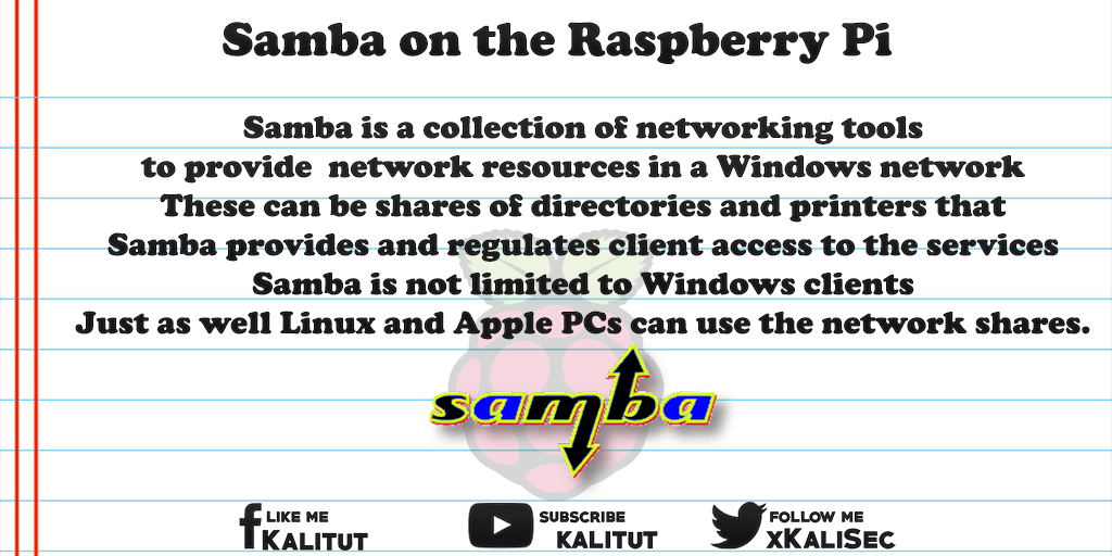 raspberry pi samba server