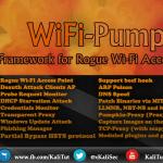 WiFi Pumpkin Framework for Rogue WiFi Access Point Attack