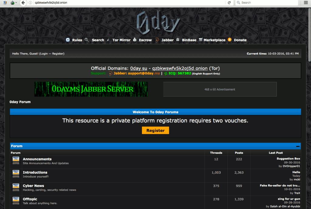darkweb forums