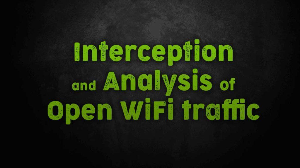 intercepting wifi traffic