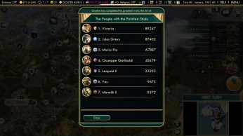 Civilization 5 Scramble for Africa Germany Strategy Military might ranking