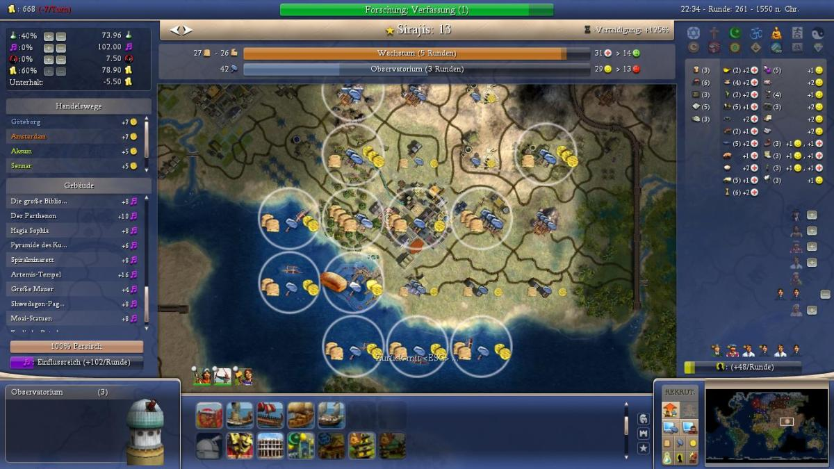 Civ4 persian strategy