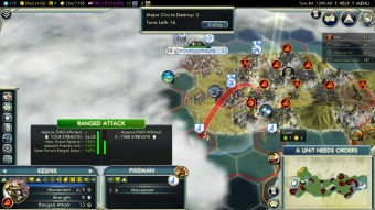 Civilization 5 Rise of the Mongols siege Constantinople