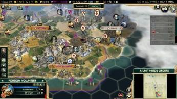 Civilization 5 Scramble for Africa Boers Deity Boer Fleet