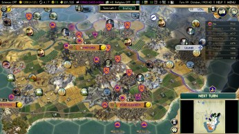 Civilization 5 Scramble for Africa Boers Deity Defense position