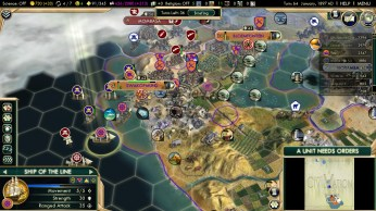 Civilization 5 Scramble for Africa Boers Deity Sea Blockade