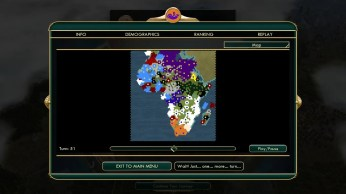 Civilization 5 Scramble for Africa Praise the Victories Ethiopias maximum expansion