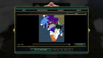 Civilization 5 Scramble for Africa Praise the Victories Ethiopia contained Turn 100