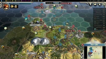 Civilization 5 Into the Renaissance Celts Deity Attack Granada