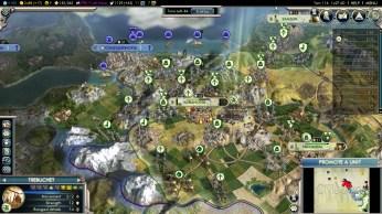 Civilization 5 Into the Renaissance Mehmet the Conqueror Constantinople citadel