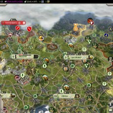 Civilization 5 Into the Renaissance Turks Deity Austria captured