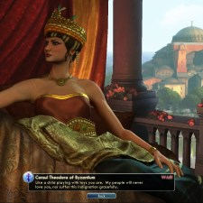 Civilization 5 Into the Renaissance Turks Deity Byzantium defeated