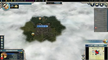 Civilization 5 Into the Renaissance Austria Deity - Metallurgy