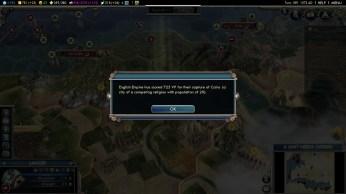 Civilization 5 Into the Renaissance England Deity Capture Cairo