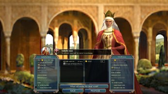 Civilization 5 Into the Renaissance England Deity Bribe Spain vs Almohads