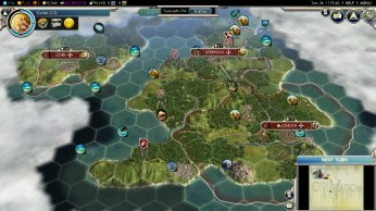 Civilization 5 Into the Renaissance England Deity City on Ireland Economy drain