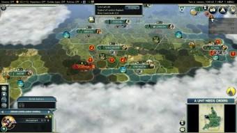 Civilization 5 Year of Viking Destiny - England Deity Initial production 2