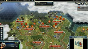 Civilization 5 Year of Viking Destiny - Normandy Deity Norwegian Attack