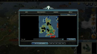 Civilization 5 Year of Viking Destiny - This was their Finest Hour - Map after Win