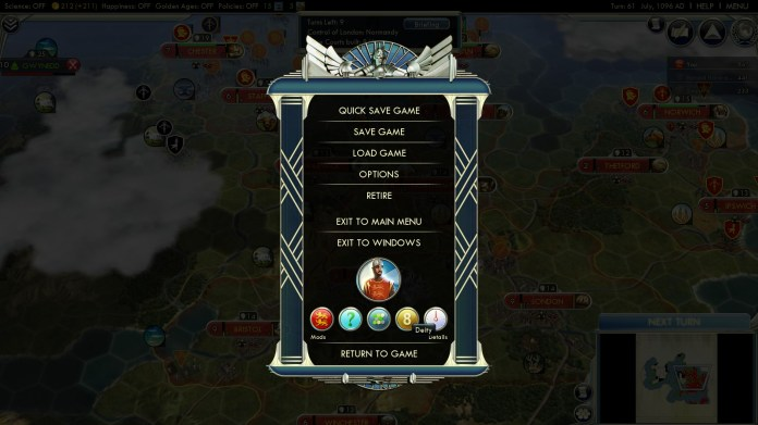 Civilization 5 Year of Viking Destiny - Time to stitch a Tapestry Deity Win