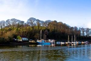 A weekend in Wales - Caernaforn fishing boats