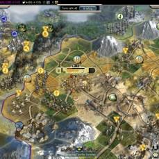 Civilization 5 Into the Renaissance Ayyubids Deity Finally attacking Byzantium