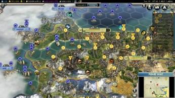 Civilization 5 Into the Renaissance Ayyubids Deity Captured Constantinople