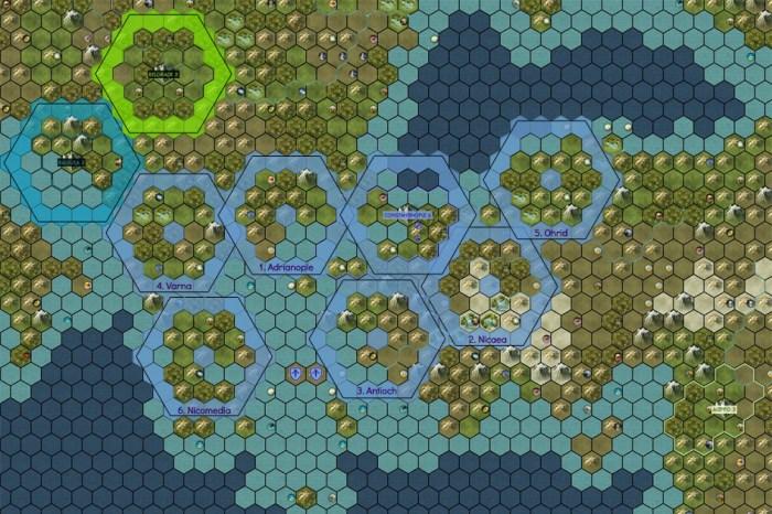 Civilization 5 Into the Renaissance Byzantium Deity City Positions