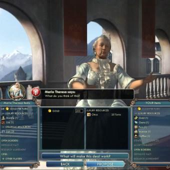 Civilization 5 Into the Renaissance France Deity Trade your resources