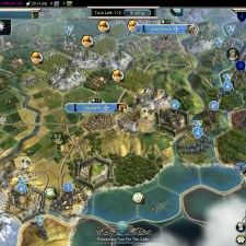 Civilization 5 Into the Renaissance France Deity Pyrenees Citadels