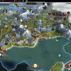 Civilization 5 Into the Renaissance France Deity Toledo flipping
