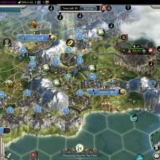Civilization 5 Into the Renaissance France Deity Bomb Milan