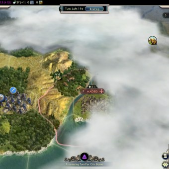 Civilization 5 Into the Renaissance France Deity Fail Madrid on French territory
