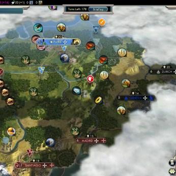 Civilization 5 Into the Renaissance France Deity Fail Spanish French Riviera