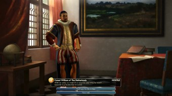 Civilization 5 Into the Renaissance Spain Deity William mockery