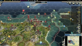 Civilization 5 Into the Renaissance Spain Deity Defend Tunis