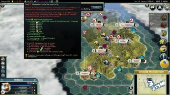 Civilization 5 Samurai Invasion of Korea Japan Deity Raging Unhappiness