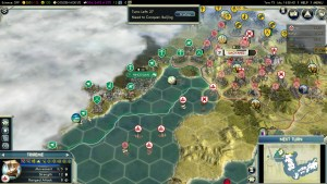 Civilization 5 Samurai Invasion of Korea Japan Deity Veteran Triremes
