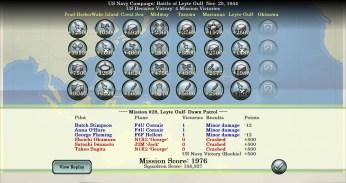 Sid Meiers Ace Patrol Pacific Skies American Navy Campaign Score