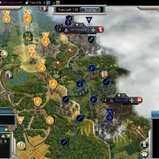 Civilization 5 Into the Renaissance Netherlands Deity - Offense vs Wittenberg