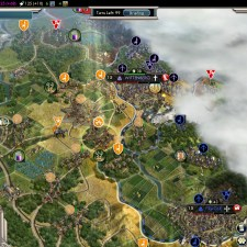 Civilization 5 Into the Renaissance Netherlands Deity - Catapults vs Wittenberg