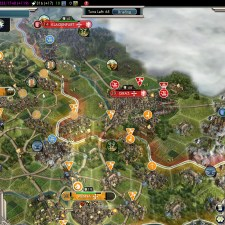 Civilization 5 Into the Renaissance Netherlands Deity - Graz captured