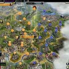 Civilization 5 Into the Renaissance Netherlands Deity - Fully promoted Veterans