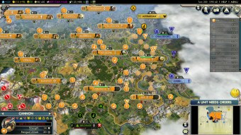 Civilization 5 Into the Renaissance Netherlands Deity Win - Eastern Central Europe